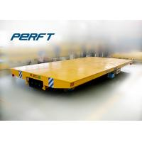 Buy cheap Low voltage rail powered transfer flat cart for heavy material from Wholesalers