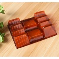 China Reusable Clear Plastic Trays Food Packaging Environmental Friendly on sale