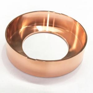 China 3D STP Rose Gold Plating CNC Rapid Prototype Parts factory