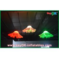 Buy cheap Hanging Flower Inflatable Lighting Decoration , Inflatable Christmas Decorations from Wholesalers