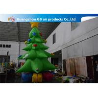 Buy cheap Customized Giant Inflatable Christmas Tree Yard Decoration , Inflatable Tree With Ornaments from Wholesalers