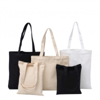 China 32cm canvas shoulder bags, different size of Reusable Shopping Bags factory