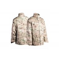 Buy cheap M65 Military Field Jacket Water Repellent With Concealed Hood from Wholesalers