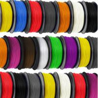 China Fluorescent Yellow 3MM ABS Filament Soft , Solidoodle / Afinia 3D Printer Filament factory