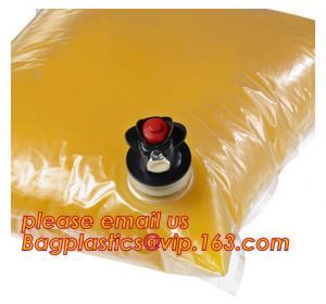 China 3l 5l 10l bag in box packaging wine bag with vitop tap,5L/10L/20L transparent/VMPET wine bag in a box/bag in box/liquid factory
