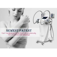 China Cool Tech Cryolipolysis Fat Freezing Machine , Safe Cosmetic Laser Equipment on sale