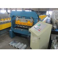 Buy cheap No.45 Steel Construction Floor Metal Deck Roll Forming Machine Mitsubishi PLC from Wholesalers
