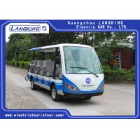 Buy cheap 14 People Independent Seat Electric Sightseeing Bus Max.Speed 28 Km/H from Wholesalers