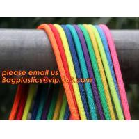 China Best quality Green amusement equipment polyester rope 5mm nylon braided rope factory