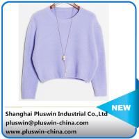 Buy cheap hot sale high quality cashmere/cashmere blended sweater for women from Wholesalers