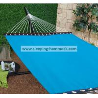 Buy cheap Woven Stand Alone Poolside Hammocks , Outdoor Double Wide Swimming Pool Hammock Blue Anti UV from Wholesalers