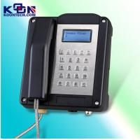 Buy cheap Black Auto Answer Explosion Proof Telephone Waterproof Stainless Steel from Wholesalers