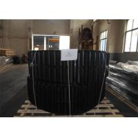 China Large Dumper Rubber Tracks 650 * 125 * 78mm With Low Ground Pressure factory