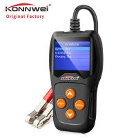 Buy cheap TFT Colorful Screen Auto Car Diagnostic Scanner KW600 With Data Printing Function from Wholesalers