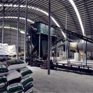 China NPK Compound Fertilizer Production 4.35T Cement Plant Equipments factory