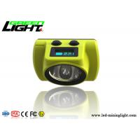 Buy cheap Underground Coal Miner Hard Hat Light 25000lux Coal Low Power Indication Led Screen from Wholesalers