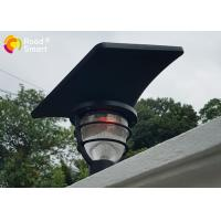 Buy cheap Rohs CE COC Solar Powered Pole Lights Garden Mailbox Lamp With Lithium - Ion Battery from Wholesalers