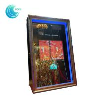 Buy cheap Led open air wedding photo booth 3d mirror selfie photo booth from Wholesalers