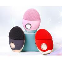 China Multi - Level Silicone Facial Cleansing Brush With 3 Kinds Indicator Lights on sale