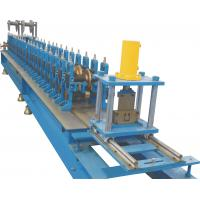 U Guide Rolling Shutter Making Machine With Rubber System 410~ 580mm
