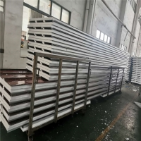 China waterproof prefabricated sandwich panels 75mm thickness for construction buildings factory