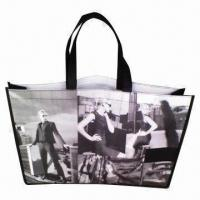 Buy cheap Eco-friendly Recycled Nonwoven Shopping Bag, Convenient to Store Cloth from Wholesalers