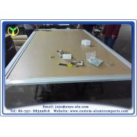 Buy cheap Electrophoresis Aluminum Parts Manufacturing Frame For Metro Large Advertising Light Boxes from Wholesalers