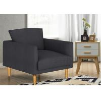 Buy cheap Casual Stylish Upholstered Accent Chairs Solid Wood Fabric For  Living Room from Wholesalers