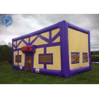 China customized outdoor giant inflatable irish pub inflatable bar tent for party rental factory
