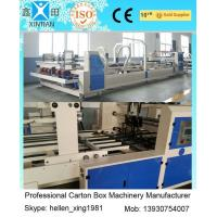 Buy cheap 6000 KGS Fully Automatic Folder Gluer Folding And Gluing Machine For Carton Box from Wholesalers