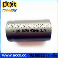Buy cheap ICR18350 900mAh 3.7V from Wholesalers