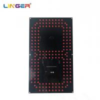 China 12 Inch LED Digital Board 7 Segment Digit Of Leds In Red Color Wide View Angle factory