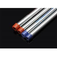 Buy cheap ISO BS4568 Conduit Hot Dip Galvansized Conduit Pipe with screwed ends and caps from Wholesalers