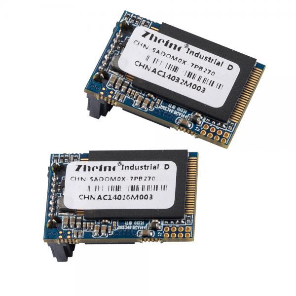 Quality 270 Degree 8gb SATA DOM SSD RoHS ECC Support 3 year Warranty 5V for sale