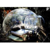 China Customized Inflatable Bubble Tent , Transparent Bubble Rooms 2 Years Warranty factory