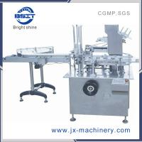 China Automatic bottle into box Cartoning Machine (BSM-125P) for various bottle factory