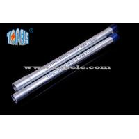 Buy cheap Galvanized Steel BS4568 Conduit / BS4568 TUBE / GI PIPE With Protection Cap from Wholesalers