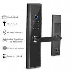 Buy cheap Intelligent Fingerprint Door Lock , Bluetooth Electronic Household Glass Wooden Door Lock from Wholesalers