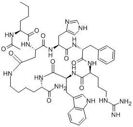 99% Melanotan II Tanning Peptides , Mt2 Tanning Injections CAS 121062-08-6