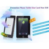 Buy cheap $51 Cheap tablet pc sim card E10 from wholesalers