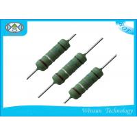 Buy cheap Low Noise Wire Wound Power Resistor 0.25W - 10 Watt Resistor With Good Heat Durability from Wholesalers