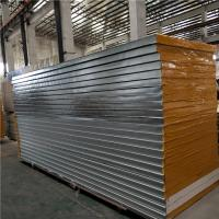 China insulated steel sheet phenolic sandwich panel 3710 x 1150 x 75mm for warehouse factory