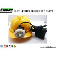 Buy cheap Traditional Charging Coal LED Miners Cap Lamp 146LUM 6.6Ah 1200 Battery Cycles from Wholesalers