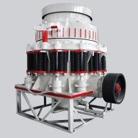 China 45-163 TPH symons cone crusher For Stone Crushing Stable Performance factory