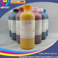Buy cheap 6 color pigment ink for HP5000 HP5500 inkjet printer pigment ink from wholesalers