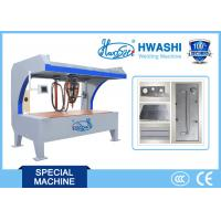 China Sheet Metal Roof Type Spot Welding Machine With Copper Table and Balanced Welding Head on sale