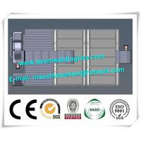 China Stainless Steel Shot Blasting Machine PLC For Paint Drying Room factory