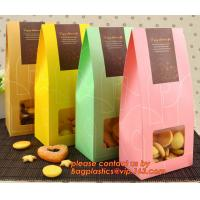 China Customize Translucent Window, Brown Greaseproof Kraft Paper Bag, Special Opp Window Bag, window bags, paper window bags, factory