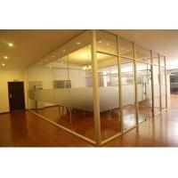 China Modern Aluminum Glass Office Partitions Easy Assembly Heat Insulation factory