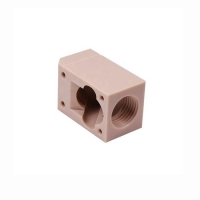 China ABS Plastic TUV Passivation CNC Precision Machining Parts Anodized factory